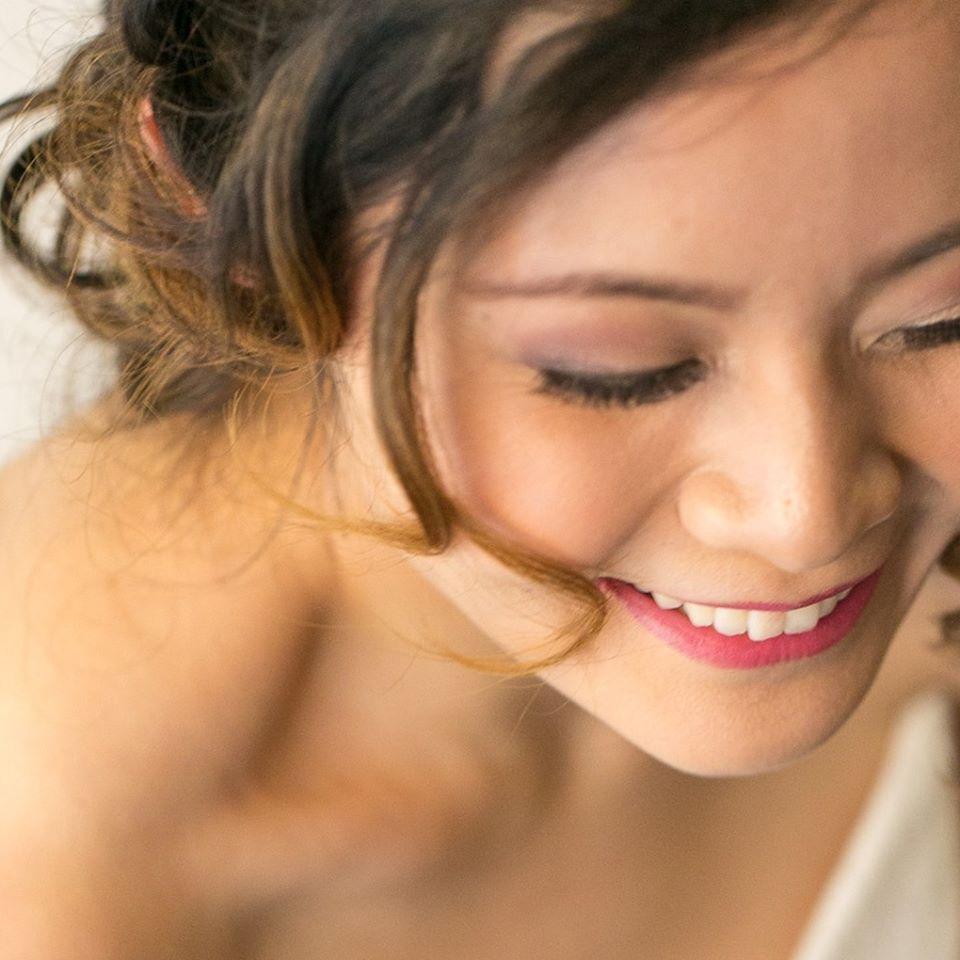 Bridal Hair & MakeupPhoto credit: Waynes World Studio