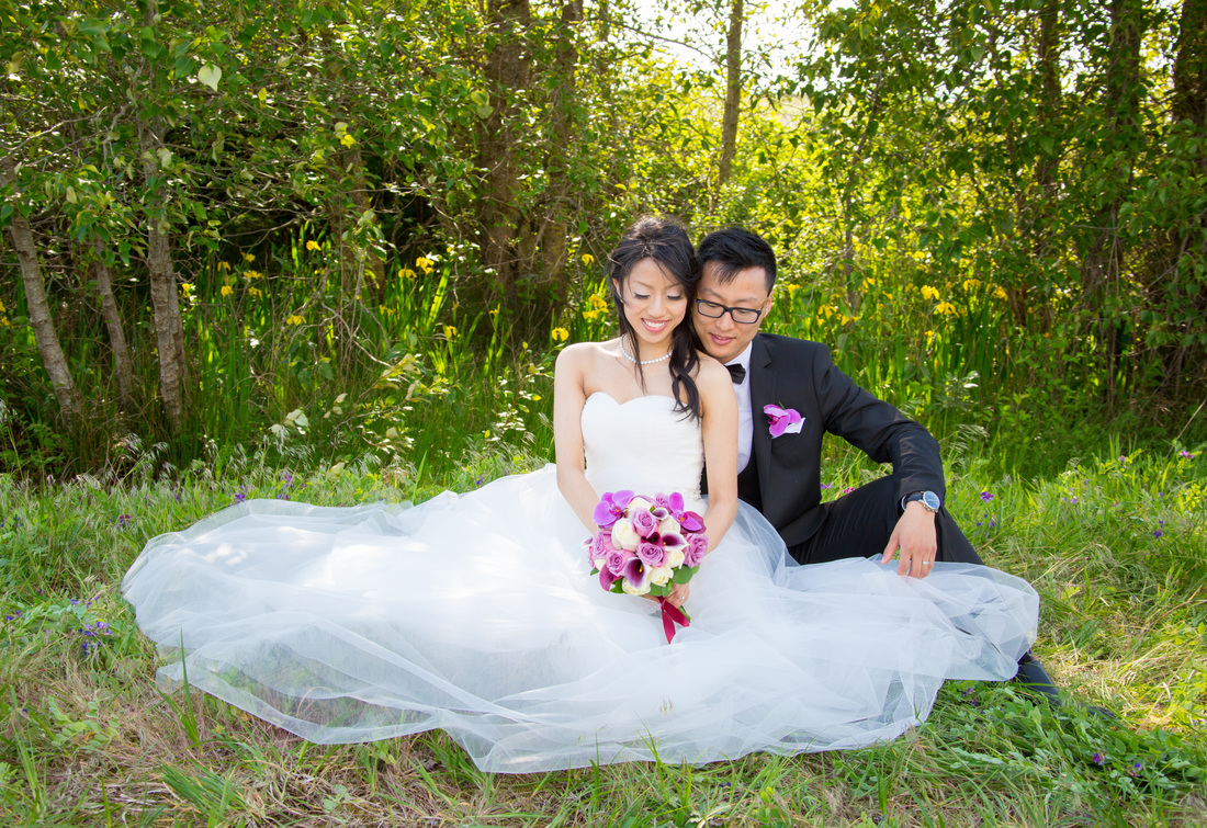 Bridal Hair & MakeupPhoto credit: Yang Xia Photography