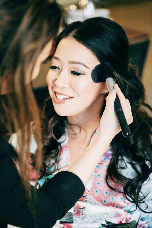 Bridal Hair & MakeupPhoto credit: Life Studios