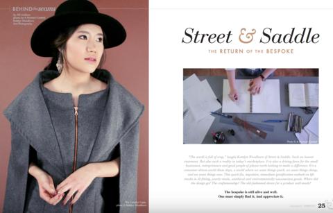 Published Fashion Hair & MakeupDesigner: Street & Saddle